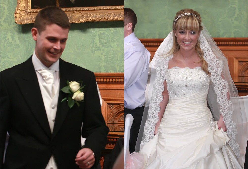 The Wedding of Laura & Gary at St Benet's Roman Catholic Church and following reception at Knowsley Hall, Knowsley